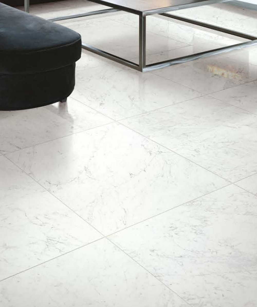 the best white marble effect tiles