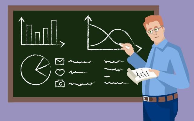 intestazione delle statistiche di blog