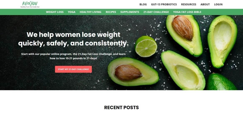 Avocadu Homepage