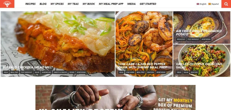 Fit Men Cook Homepage