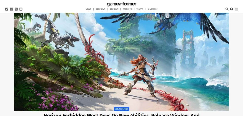 Game Informer Homepage