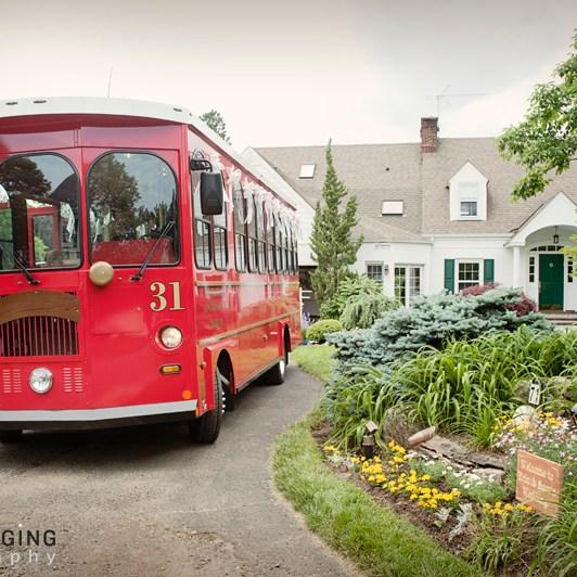 Long Branch Trolley Wedding Transportation 732-850-5449