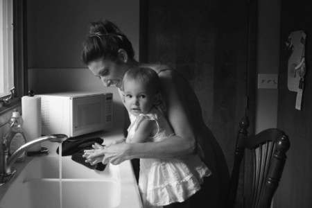mom-and-daughter-at-sink