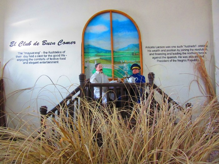 Learn the history of the province at the Negros Museum.