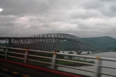 The longest bridge in the archipelago.