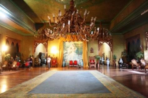 The stately ballroom.