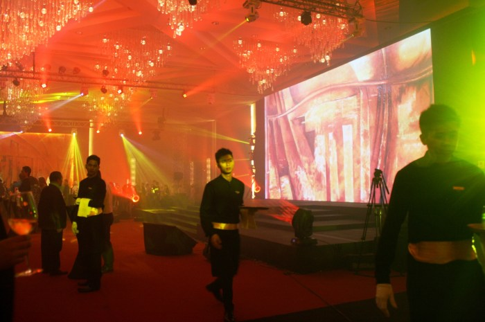 The launch of the Grand Plaza Ballroom.