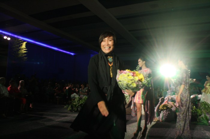 Fashion designer Renee Salud.