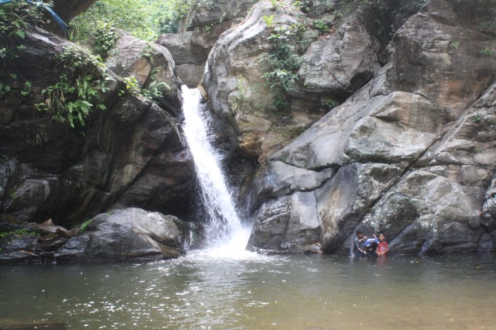 Sibuyan Island is rich in waterfalls and other natural resources.