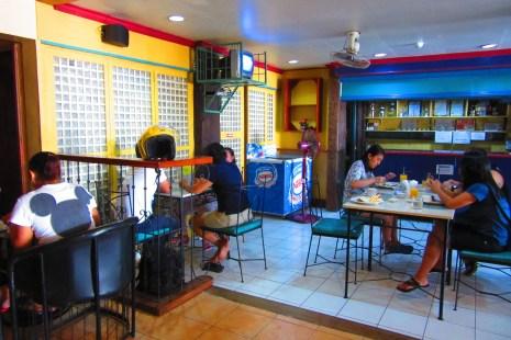 The coffee shop.