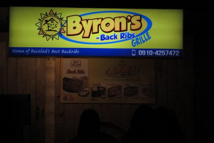 Byron's Back Ribs