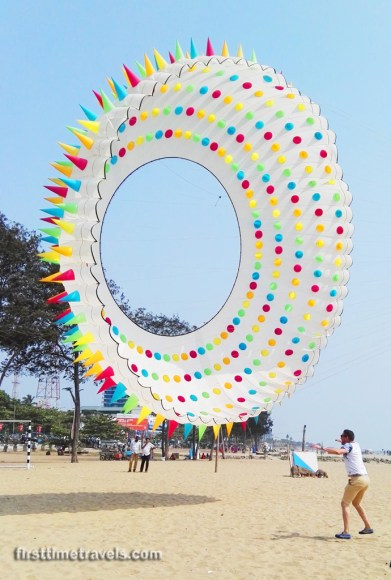 Circle with Spikes kite