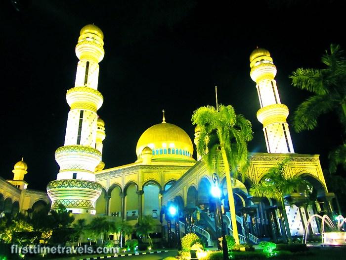 Jame'Asr Hassanil Bokiah Mosque ASEAN Brunei