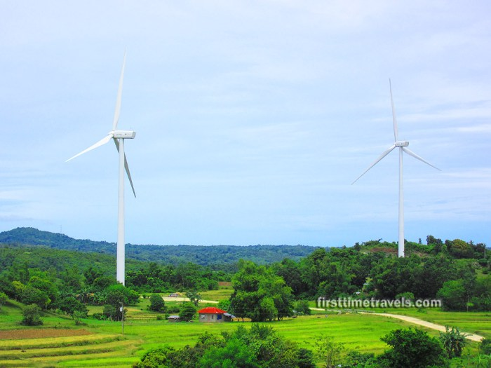 Windmills Guimaras Island