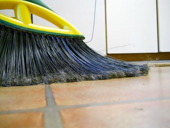 sweeping photo