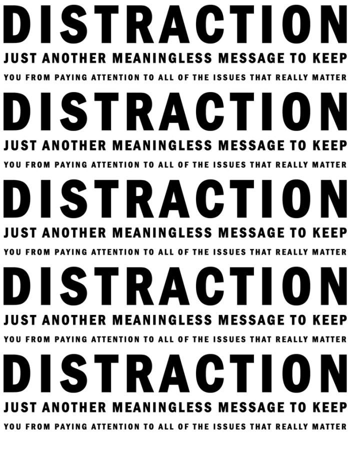 distraction photo