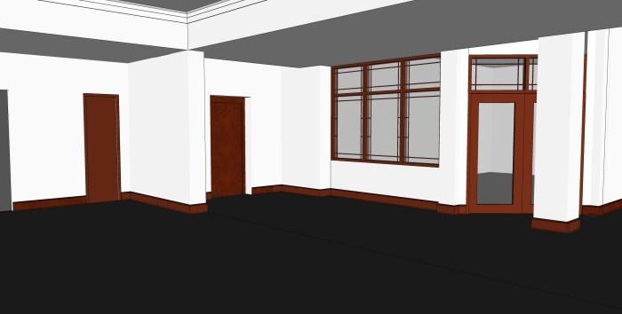 2 - Hospitality Room - Facing Office