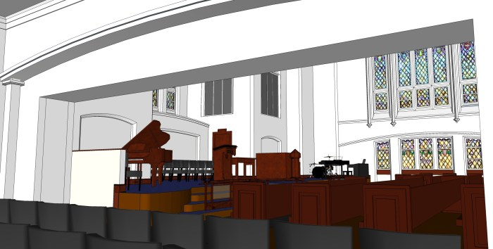 7 - Hospitality Room with Overflow Seating