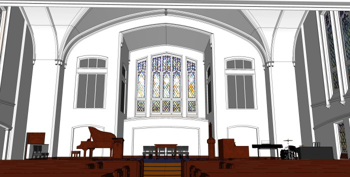 8 - Sanctuary from Congregation