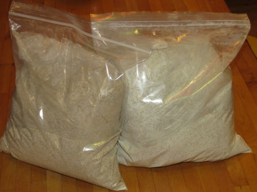 Otto's Kokopellie Farm rye and barley flour bags