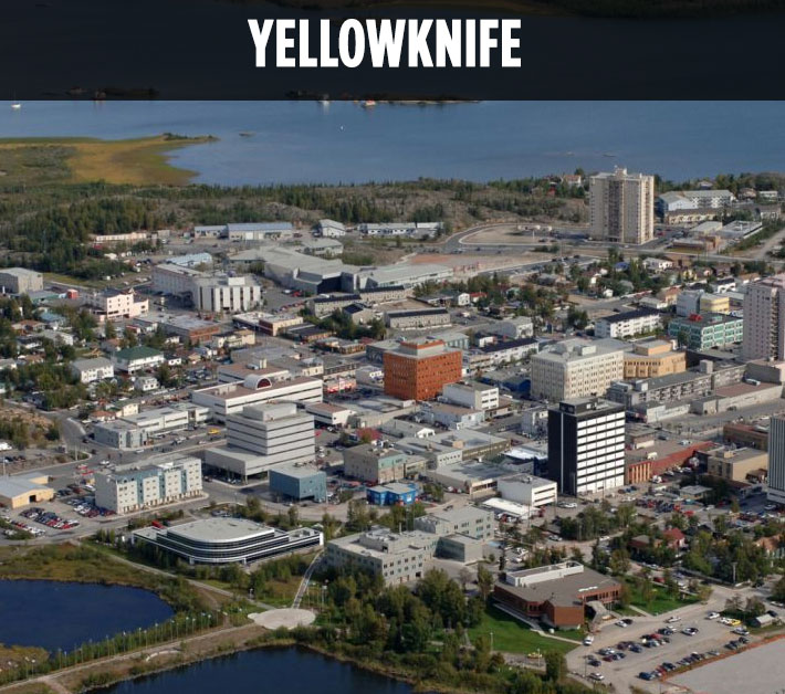 Blog posts about Yellowknife, NWT.