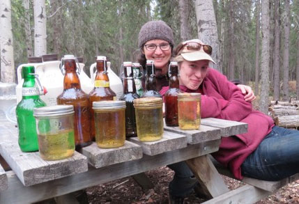 Refreshing and Versatile Birch Sap