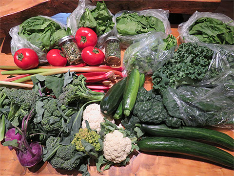 Farmers' Markets Bring Local Produce to Dawsonites