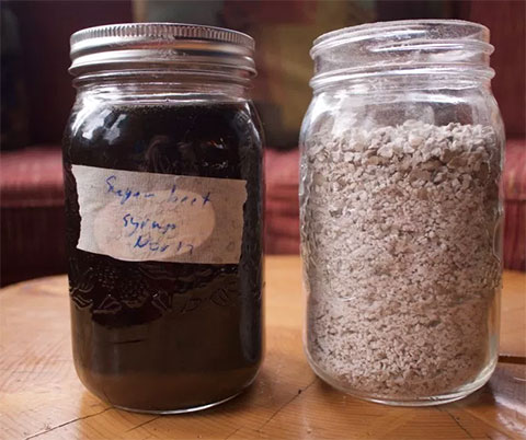 Sugar Beet Syrup and Homemade Potato Starch