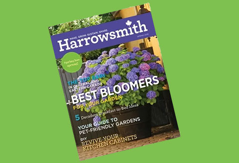 Suzanne Profiles First We Eat in Spring Issue of Harrowsmith