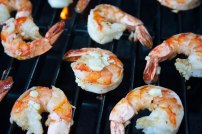 Shrimp on the grill