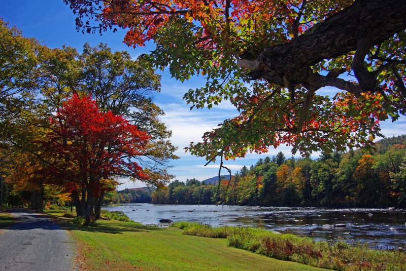 Fall Colors - Along the Hudson - Riverside Photo Credit: Greg Klingler