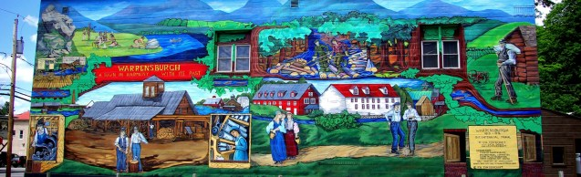 Warrensburg Mural Photo: Greg Klingler