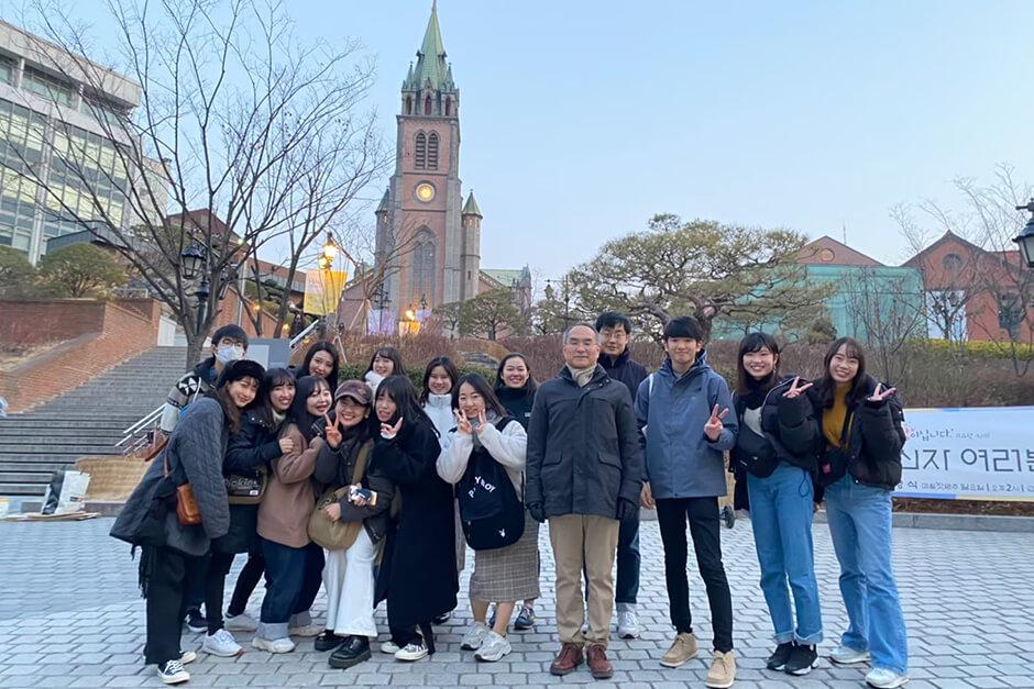 校外実習 韓国