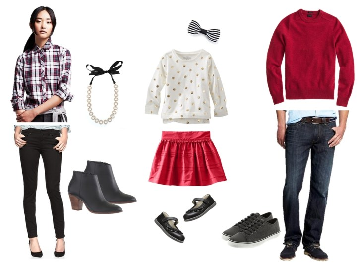 Christmas picture outfit