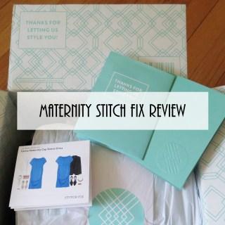 Maternity Stitch Fix Review #1