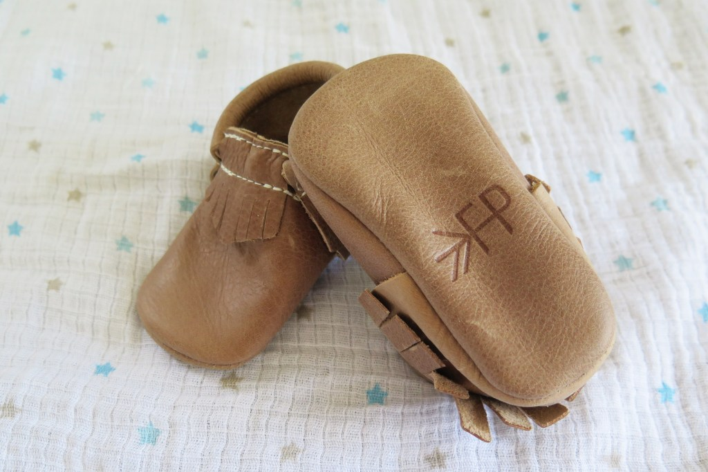 Freshly Picked weathered brown moccasins