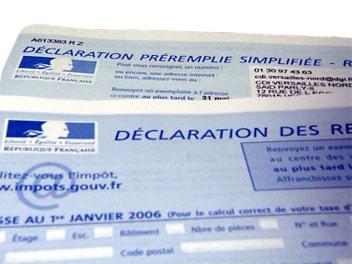 deduction impots DEDUCTION IMPOT 2012 : IMPOTS SUR LE REVENU 2013