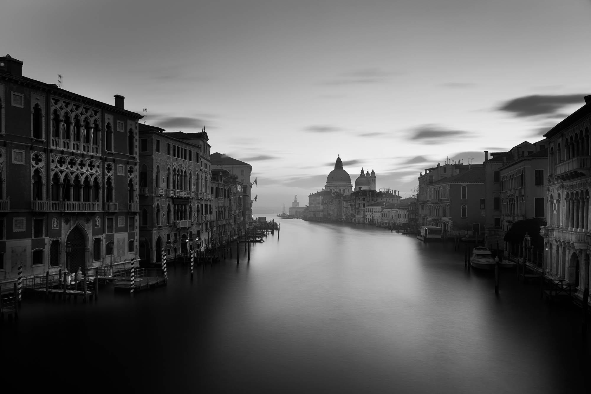 Venedig: Canale Grande Langzeitbelichtung