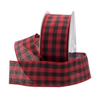 gingham-checkered-plaid-ribbon-40CHECK-RDBK