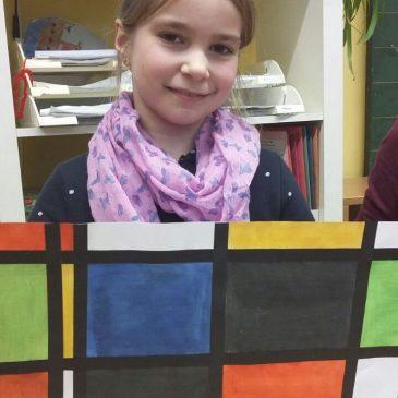 Malen wie Piet Mondrian
