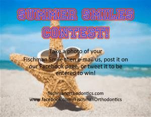 Summer Smiles Contest Flyer