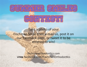 Summer Smiles Contest Flyer