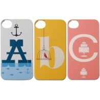 Alphabet phone case
