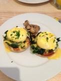 Eggs Florentine - yummy!