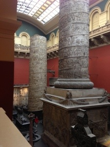 Historic columns