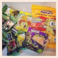 Goodie bag sweets