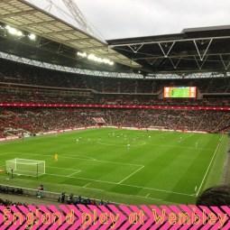 England play at Wembley