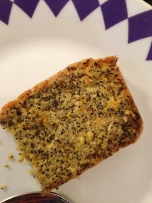 Lemon, Lime and Poppyseed cake