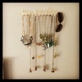 Lovely jewellery holder! :)