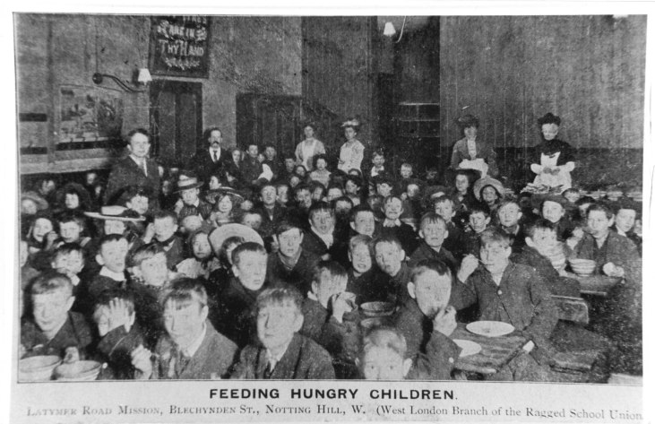 feeding-hungry-children-Latymer Road Mission